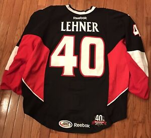 Binghamton Senators Game Worn Jersey 2012-13, Lehner
