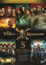 PIRACI Z KARAIBÓW: CAŁA KOLEKCJA (PIRATES OF THE CARRIBEAN) - BOX [5 DVD]