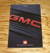 Original 1994 GMC Truck Full Line Sales Brochure 94 Jimmy Sonoma Sierra