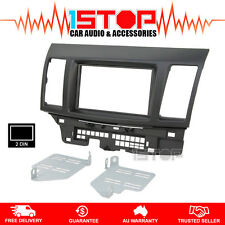 MITSUBISHI LANCER CJ 2007-2013 DOUBLE-DIN FACIA FASCIA KIT PANEL ES EVO SX VR-X