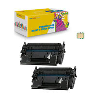 2PK Compatible Toner Cartridge WITH CHIP for Canon 057H imageCLASS MF440 MF449dw