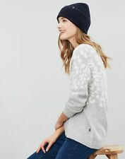 Joules Womens Vinnie Knitted Beanie - FRENCH NAVY in One Size