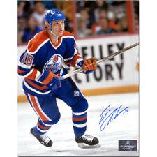 Esa Tikkanen Edmonton Oilers Signed 8X10 Photo