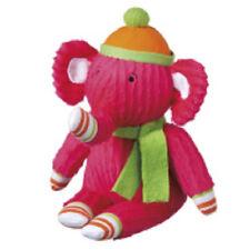 NEW STELLA  mini  interactive  cbk midwest  pink  plush   monkeez sock elephant