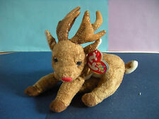 Ty Roxie Reindeer Beanie Babies with Tag