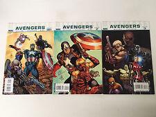 Ultimate Avengers lot of 3 issues #1-3 Marvel Comics 2009 Vf Mark Millar