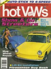 DUNE BUGGIES & HOT VW'S 1992 AUG - MAGS REPAIRED, COOL TYPE 3, BODY LIFT KIT