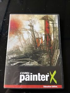 Corel Painter X Software, DVD Education Edition. In Case and Key. WORKING GOOD