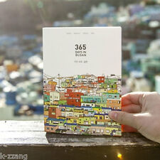Diary Days in Busan Note Scheduler Journal korean Journey Undated Daily Planner
