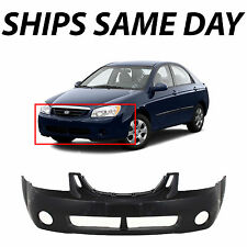 NEW Primered - Front Bumper Cover for 2004 2005 2006 Kia Spectra & Spectra5