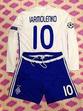 FC NAPOLI  ITALIA -FC DYNAMO KIEV Match Worn T-shirt Ukraine MESSI Jersey