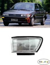 FOR TOYOTA COROLLA LIFTBACK 1987 - 1994 FRONT PARKING LIGHT LAMP LEFT N/S