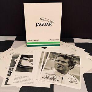 ORIGINAL GROUP 44 JAGUAR XJR-5 1984 LE MANS 24 HOURS TEAM PRESS PACK KIT &PHOTOS