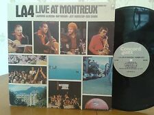 LA4,Live At Montreux,Concord Jazz CJ-100,VG+,1979,1st USPressing,Vinyl Jazz LP