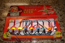 RARE 1946 NOMA ORIG BOX W RARE REPLACEMENT BULBS AND BOX BUBBLE LIGHTS LITES