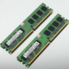 New 2GB 2 x1GB PC2-5300 DDR2 667 667MHZ 240PIN Non-Ecc DIMM Desktop 2G MEMORY
