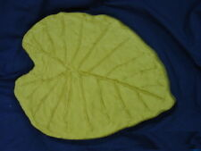 Huge Elephant Leaf Stepping Stone Plaster or Concrete Mold 1196 Moldcreations