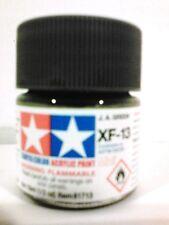 Tamiya acrylic paint XF-13 JA green. 10ml Mini.