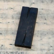 huge letter: N rare wood type letterpress printing block woodtype font antique