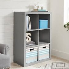 Better Homes and Gardens 6-Cube Organizer Gray