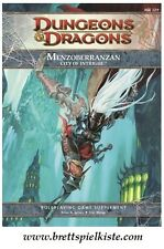 Dungeons & Dragons - D&D 4.0 - Menzoberranzan - City of Intrigue *Neu*