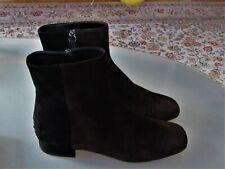 Tod's Damen Leder Stiefel bicolor Braun Schwarz Gr 37