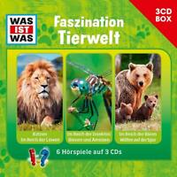 WAS IST WAS - WAS IST WAS 3-CD HÖRSPIELBOX VOL.7 - TIERWELT TESSLOFF 3 CD NEU