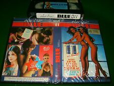 Vhs *ELECTRIC BLUE 11* 1983? Pre Cert Australasia Electric Blue Pty.Ltd. Issue