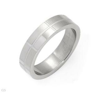 Stainless Steel  Rectangles in Band size 13