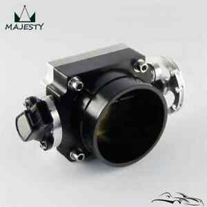 90mm Throttle Body With TPS Sensor For Toyota Supra 1JZ / 2JZ Silver / Black