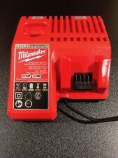 EUROPEAN MILWAUKEE M12 M18 12V 18V BATTERY CHARGER AC 220V TYPE C PLUG 48-1959