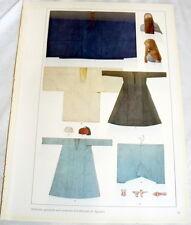 EGYPTIAN MEDICAL Costume Patterns Designs Print Kostumschnitte und Gewandformen