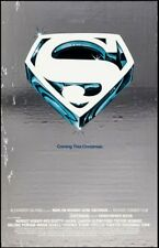 SUPERMAN THE MOVIE one sheet movie poster 27x41 advance mylar ROLLED 1978