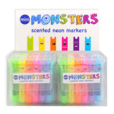 Ooly Mini Monster Scented Highlighters / Markers (Set of 6)