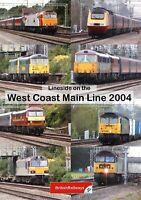Lineside on the West Coast Main Line 2004   Class 47 86 87 90 92   Railway DVD