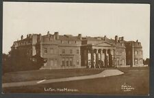 Postcard Luton Hoo Bedfordshire view The Mansion house posted 1915 RP Nicholls