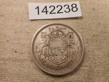 1955 Canada 50 Cents Low Mintage Better Date Collector Grade Coin  - # 142238