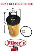 OIL FILTER FOR BMW X3 E83 4CYL N47D20 N47D20A X6 E71 N54B30A 6CYL T/DIESEL