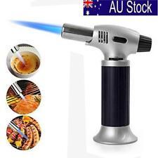 AU Refillable Butane Gas Blow Torch Soldering Welding Gun Burner Kitchen Lighter