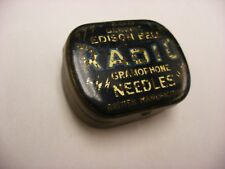 Phonograph Gramophone Needle Tin - Edison Bell Radio