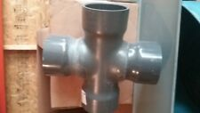 "*NEW*  SPEARS 6"" PVC Cross Socket  SCH 80 Pipe Fitting Coupling 820-060F  KP12"
