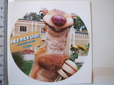 Aufkleber Sticker Ice Age - Sid - Faultier - Musical - Decal (3204)
