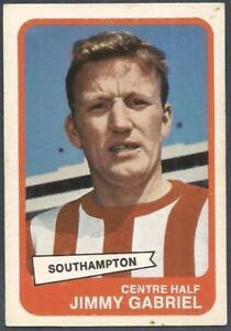 A &BC 1968 FOOTBALLERS #032-SOUTHAMPTON-JIMMY GABRIEL
