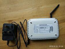 Netgear Wireless ADSL modem router dg834g v2