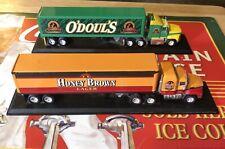 Vintage Lot Matchbox Convoy Tractor Trailer Beer Trucks Honey Brown Lager Odouls