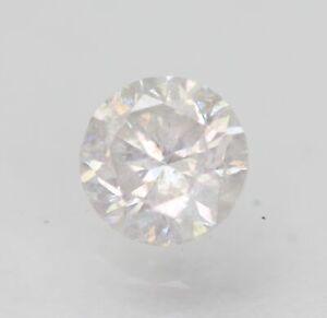 Certified 0.70 Carat E SI2 Round Brilliant Enhanced Natural Loose Diamond 5.42mm