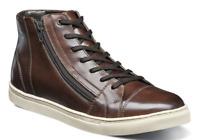 Stacy Adams New Wyn Cap Toe Casual Brown Side Zipper Sneaker Boot 53432-200