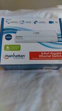Manhattan 5-Port Gigabit Ethernet Switch