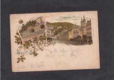 Kleinformat Lithographien vor 1914 aus den ehemaligen deutschen Gebieten