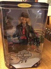 1997 Harley-Davidson 1st Edition Mattel Blonde Hair Barbie Doll Mib, Nrfb!